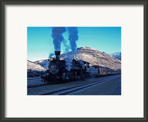 Durango Silverton Narrow Gauge  Framed Print By Ernie Echols