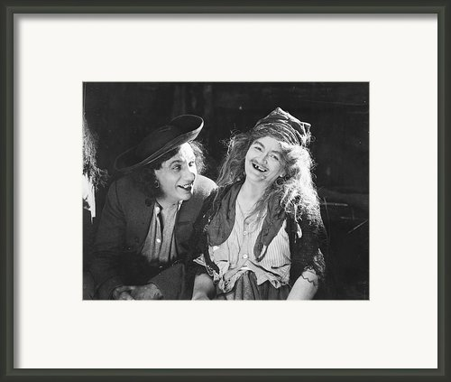 D.w. Griffith: Film, 1922 Framed Print By Granger