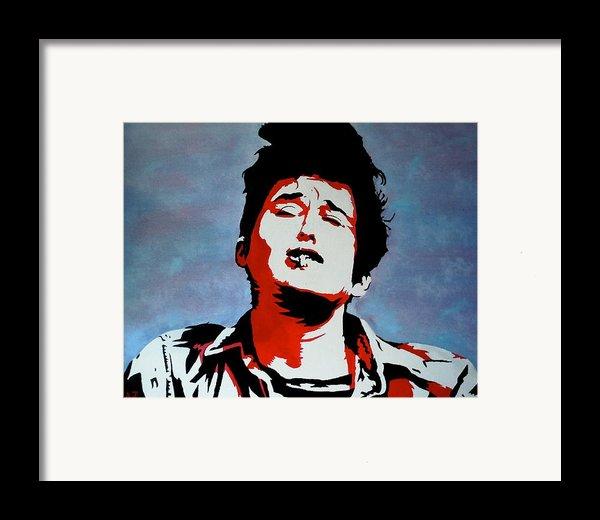 Dylan Framed Print By Austin James