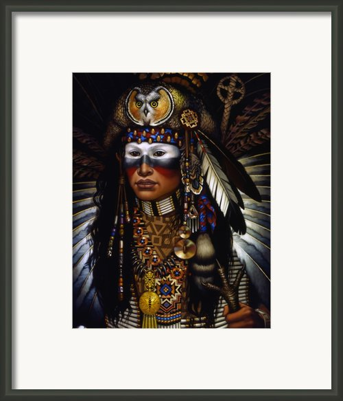 Eagle Claw Framed Print By Jane Whiting Chrzanoska