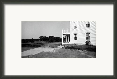 Eagle Frame House Framed Print By Jan Faul