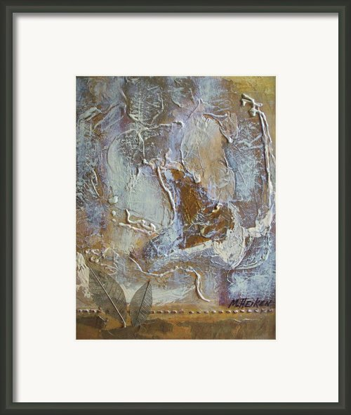 Eagle In Flight Framed Print By Marsha Heiken