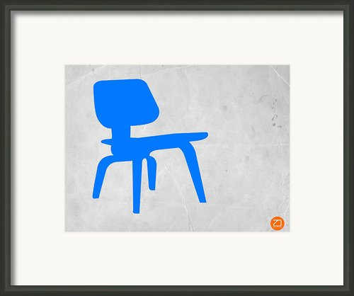 Eames Blue Chair Framed Print By Irina  March
