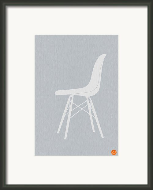 Eames Fiberglass Chair Framed Print By Irina  March