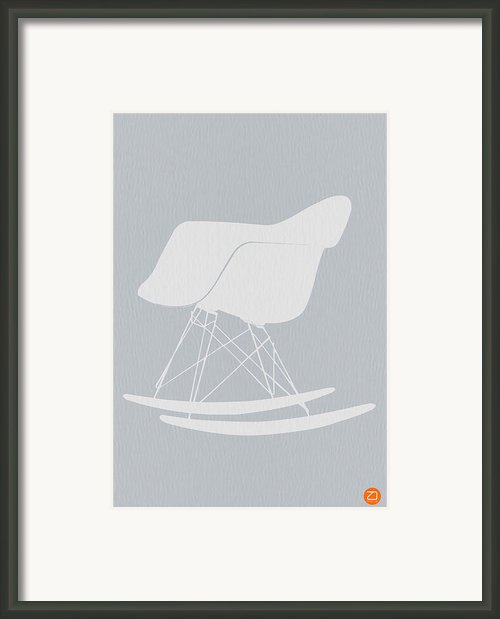 Eames Rocking Chair Framed Print By Irina  March