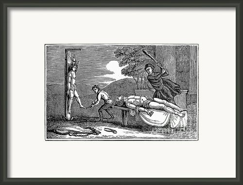 Early Christian Martyrs Framed Print By Granger