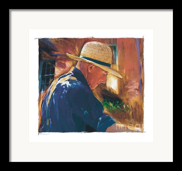 Early To Rise . . . Framed Print By Bob Salo