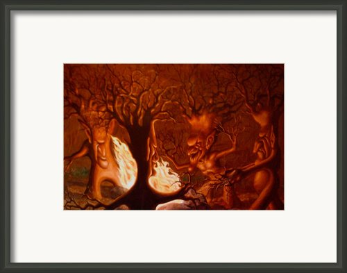 Earth Spirits Framed Print By Andrew Gardner