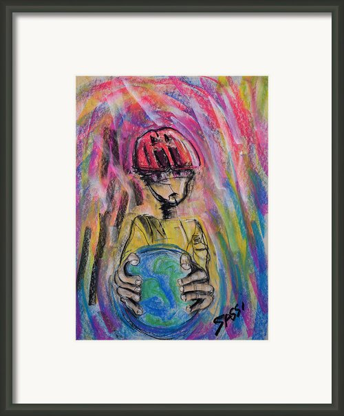 Eco Friend Framed Print By Robert M Sassi
