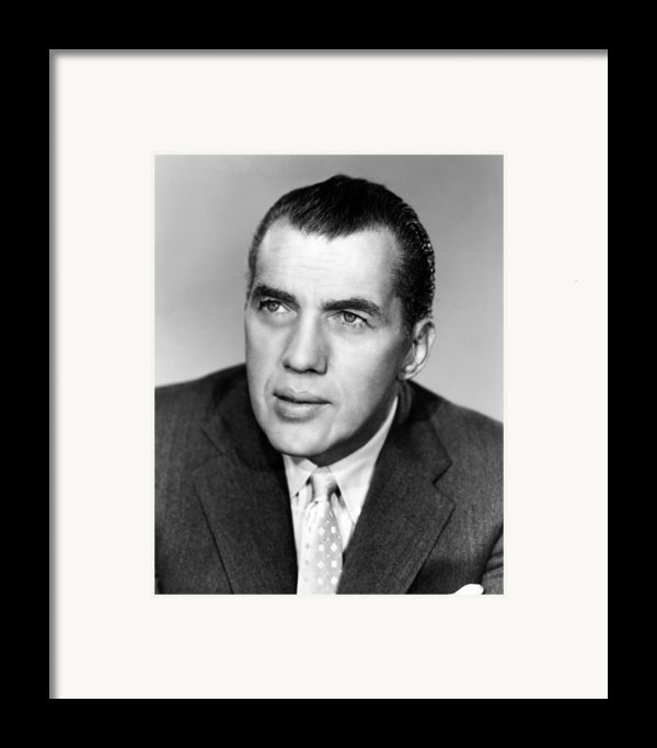 Ed Sullivan 1901-1974, American Writer Framed Print By Everett