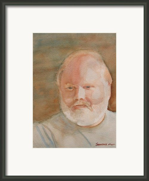 Ed Turns Forty Framed Print By Jenny Armitage