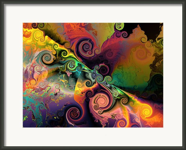 Edge Of Encounter Framed Print By Claude Mccoy