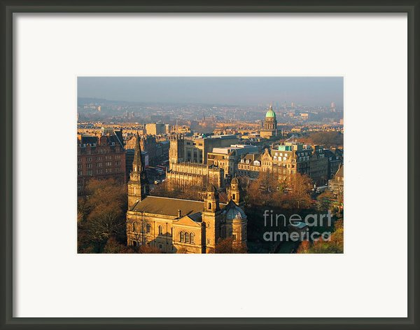 Edinburgh On A Winter