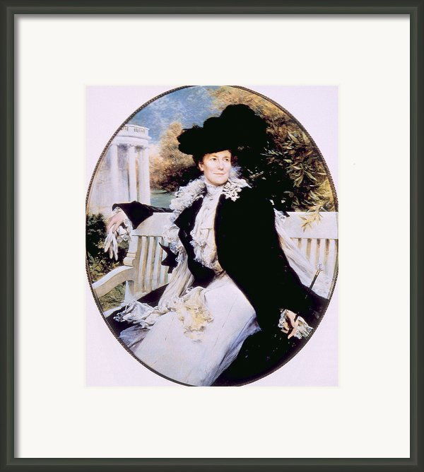 Edith Roosevelt 1861-1948, First Lady Framed Print By Everett