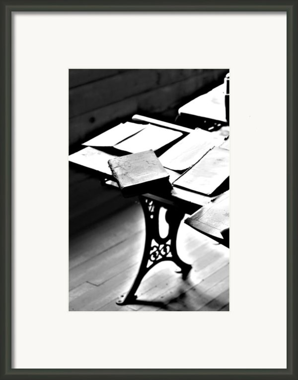 Education Station Framed Print By Jerry Cordeiro