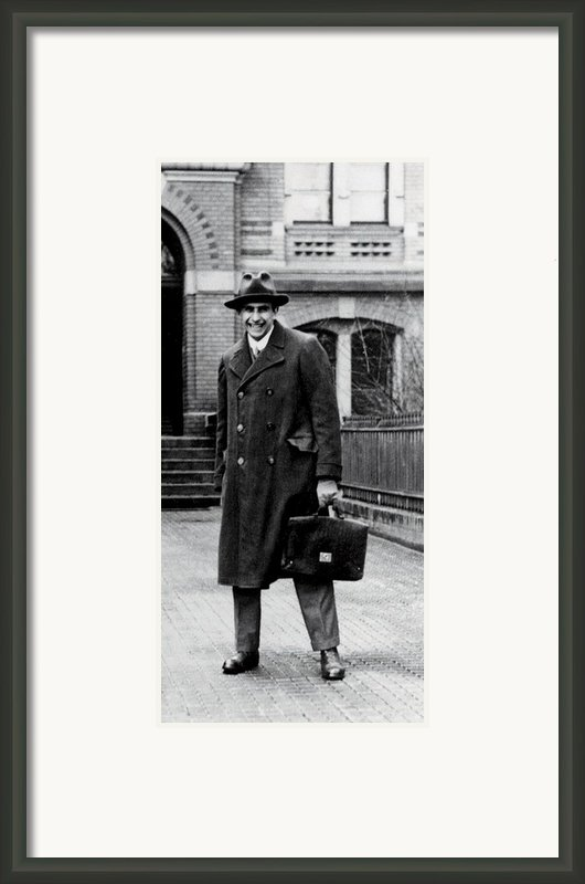 Edward Teller 1908-2003, As A Research Framed Print By Everett