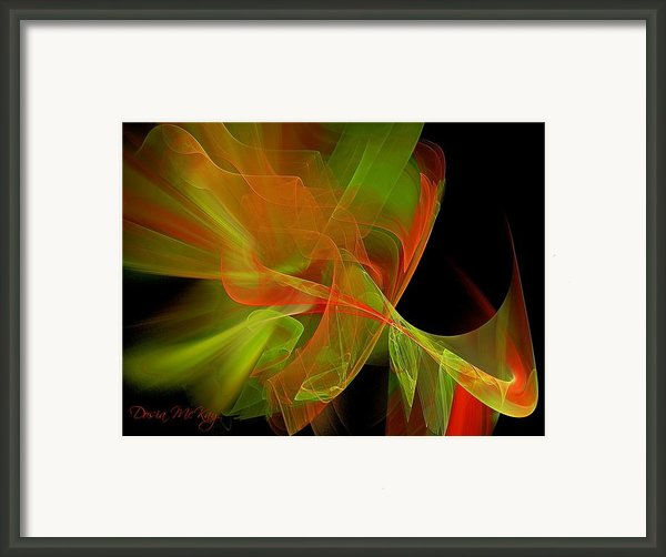 Effervescent  Framed Print By Dosia Mckay