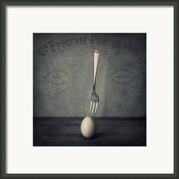 Egg And Fork Framed Print By Ian Barber