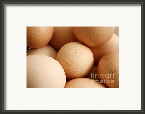 Eggs Framed Print By Gaspar Avila