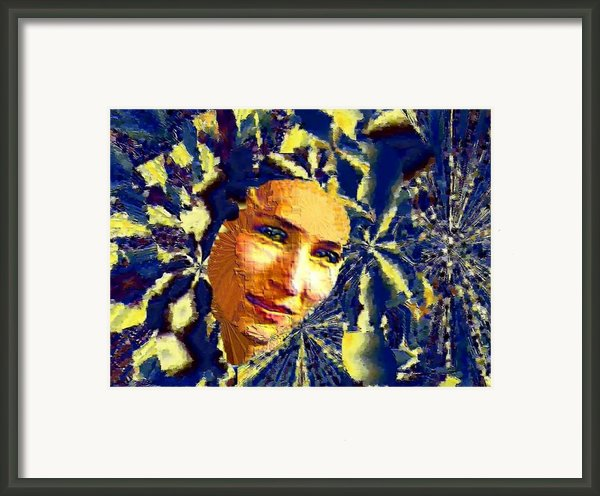 Egyptian Dreams Framed Print By Navo Art