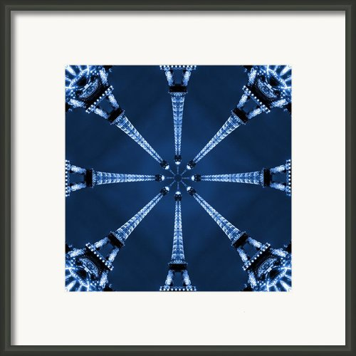 Eiffel Art 17 Framed Print By Mike Mcglothlen
