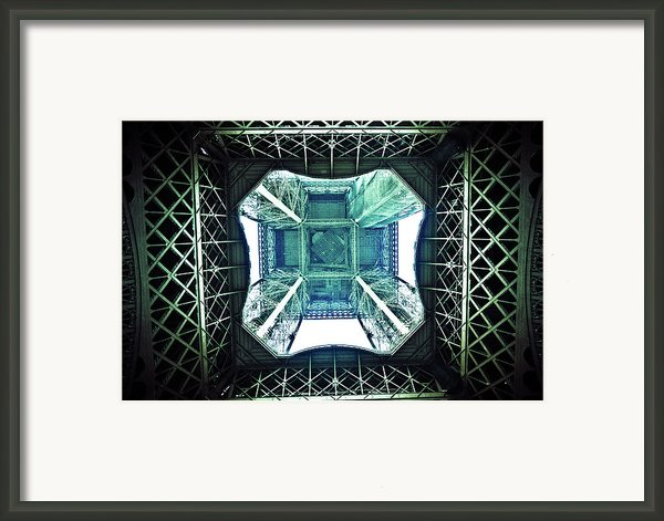 Eiffel Tower Paris Framed Print By Fabien Astre