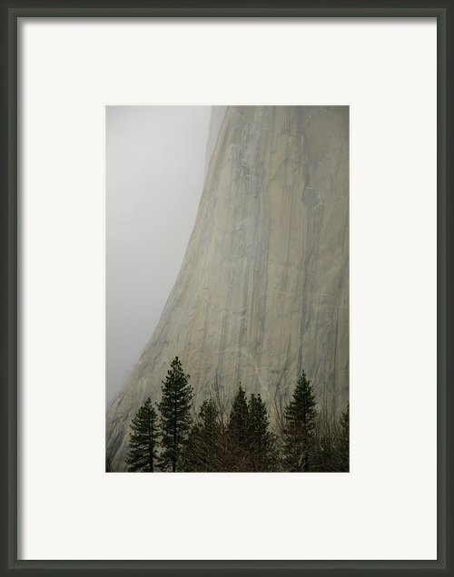 El Capitan, Yosemite National Park Framed Print By André Leopold