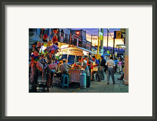 El Flamazo Framed Print By Skip Hunt
