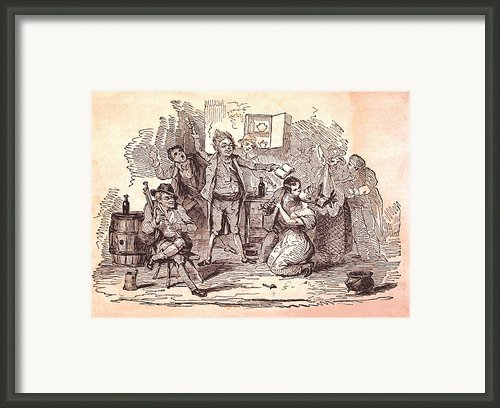 Eldons Hotel, Roundstone,connemara, Co Framed Print By The Irish Image Collection