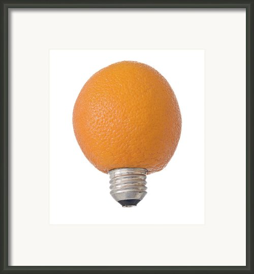 Electric Orange Framed Print By Jim Delillo