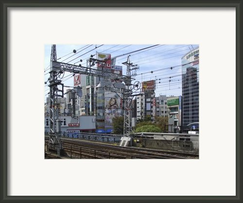 Electric Train Society -- Kansai Region Japan Framed Print By Daniel Hagerman