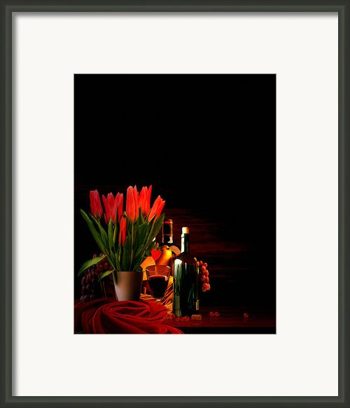 Elegance Framed Print By Lourry Legarde