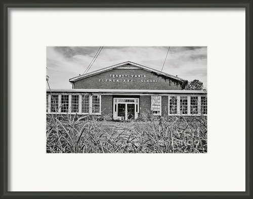 Elementary School Framed Print By Scott Pellegrin