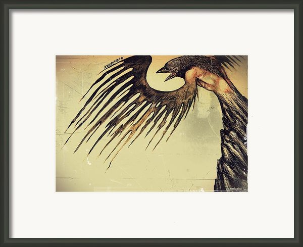Eliminate Lower Thoughts Framed Print By Paulo Zerbato