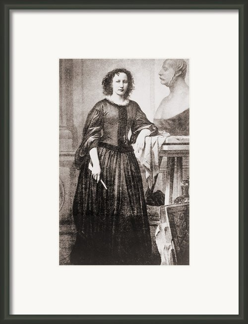 Elisabet Ney 1833-1907, German-american Framed Print By Everett