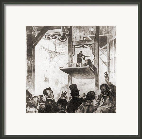 Elisha Graves Otis 1811-1861 Framed Print By Everett