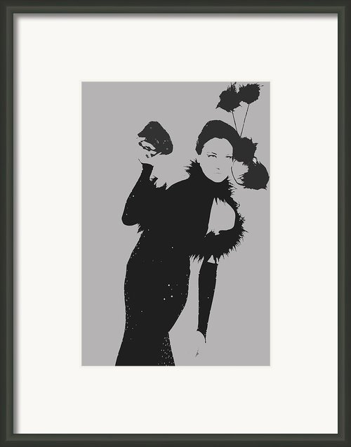 Elithabeth Framed Print By Irina  March