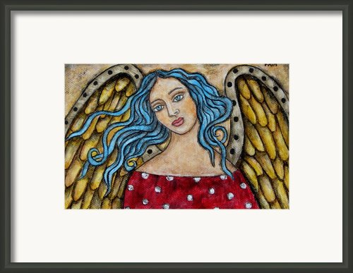 Ellie Framed Print By Rain Ririn