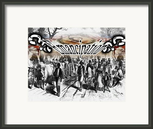 Emancipation Framed Print By Belinda Threeths
