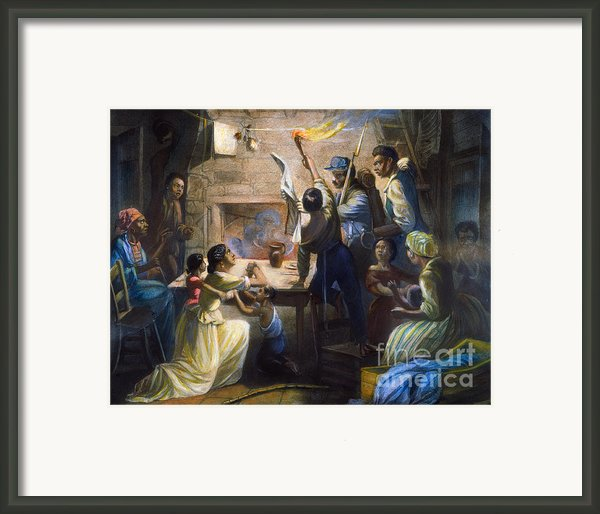 Emancipation Proclamation Framed Print By Granger