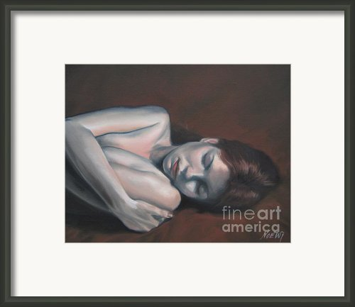 Embrace Framed Print By Jindra Noewi