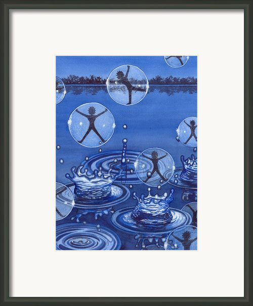 Emerging Framed Print By Catherine G Mcelroy