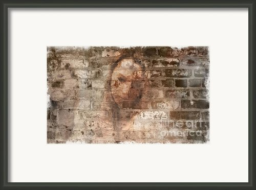 Emotions- Self Portrait Framed Print By Janie Johnson