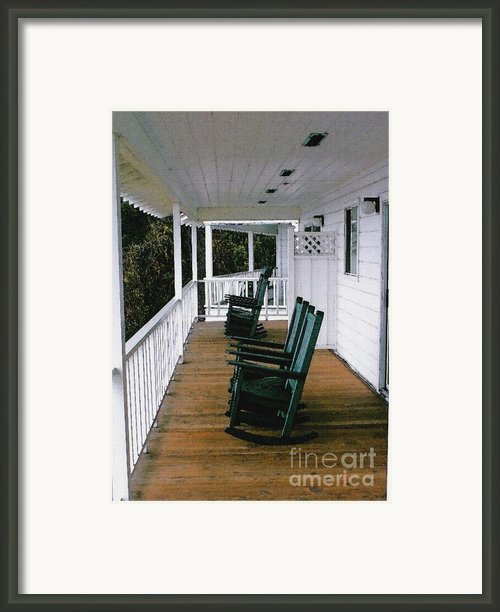 Empty Retirement Framed Print By Methune Hively
