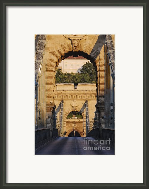 Empty Stone Bridge Framed Print By Jeremy Woodhouse