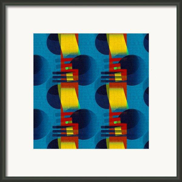 En Formes 01f Framed Print By Aimelle