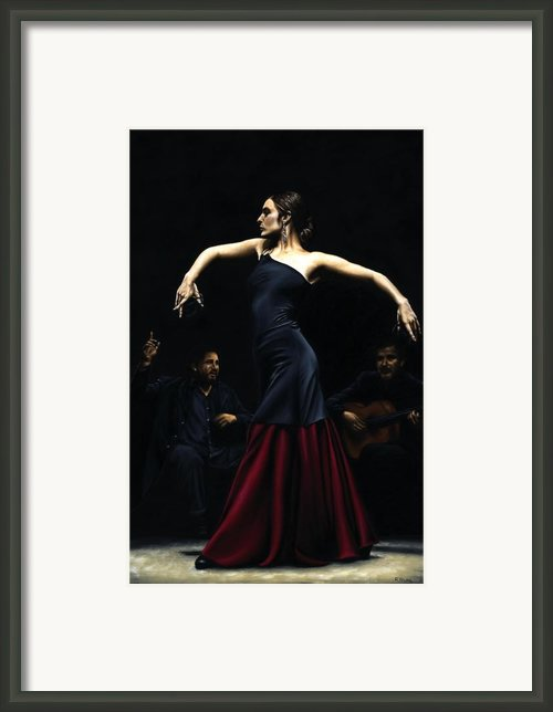 Encantado Por Flamenco Framed Print By Richard Young