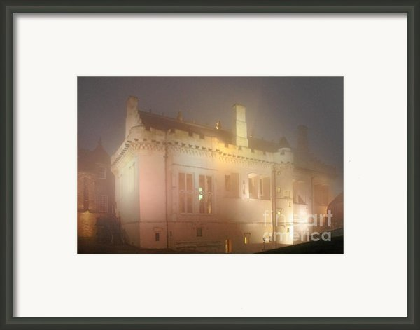 Enchanted Stirling Castle Scotland  Framed Print By Christine Till