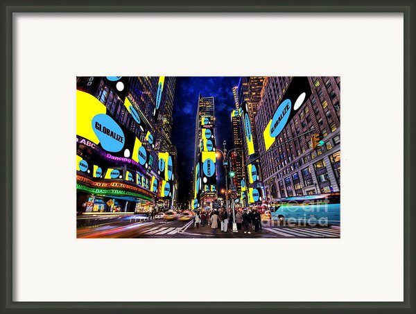 End Of A Nation Framed Print By Dan Stone