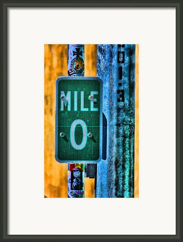 End Of The Line Framed Print By Joetta West